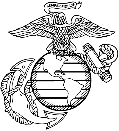 Served in US Marine Corps.