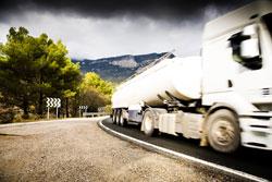 Truck driver negligence.